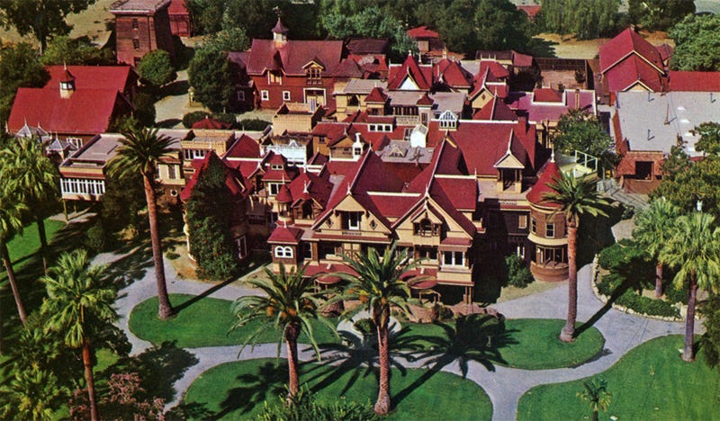 Illustration for article titled The Winchester Mystery House