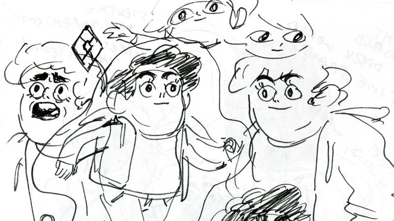 A Look Inside The Art Behind The Earliest Days Of Steven