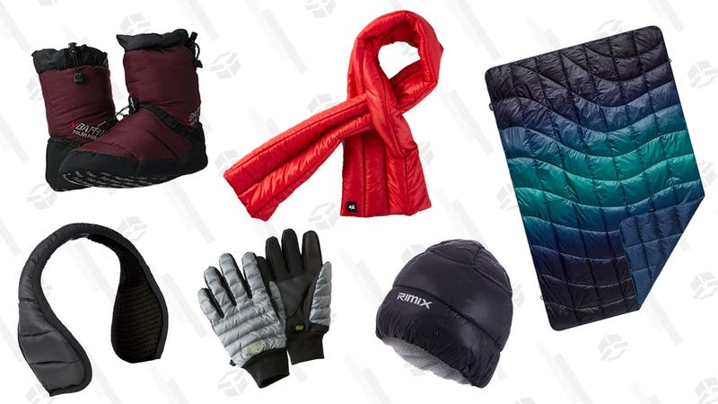 Illustration for article titled Insulate Your Entire Body With These Puffy Winter Accessories