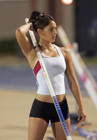 Illustration for article titled Pole Vaulting