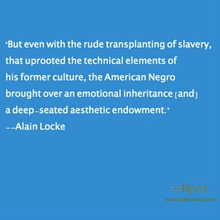 Illustration for article titled Quote of the Day: Alain Locke