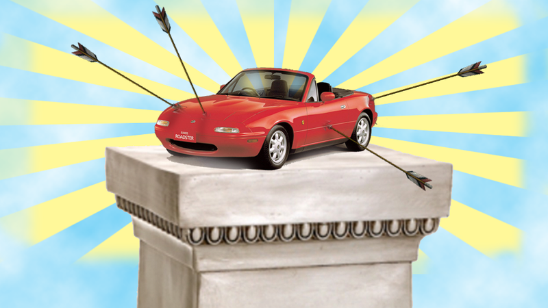 Illustration for article titled Reddit Kid 'Bullied' Over Miata Was Probably A Hoax, But You're Great