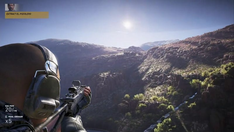 Illustration for article titled Ghost Recon Wildlands E3 Demo Goes Mega Open-World