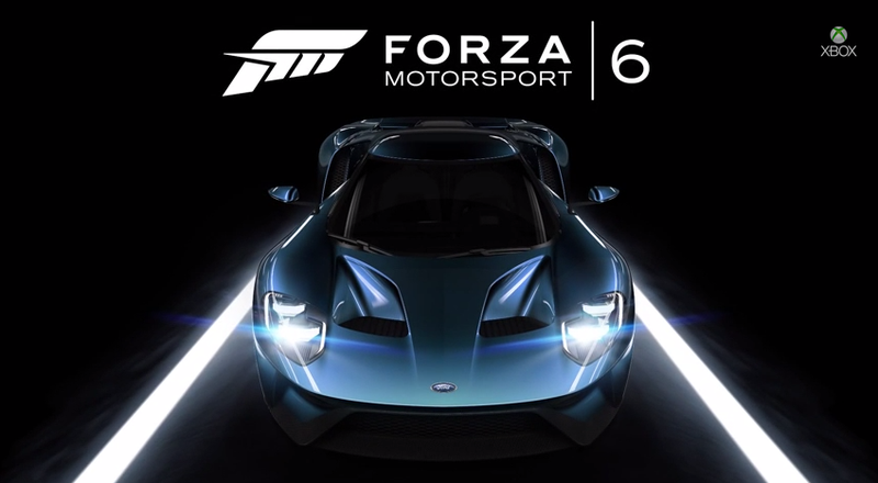 Illustration for article titled Video: Yes, The Ford GT Will Be The Forza 6 Cover Car