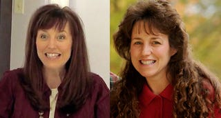 Illustration for article titled Michelle Duggar Updates Her Look to 1995