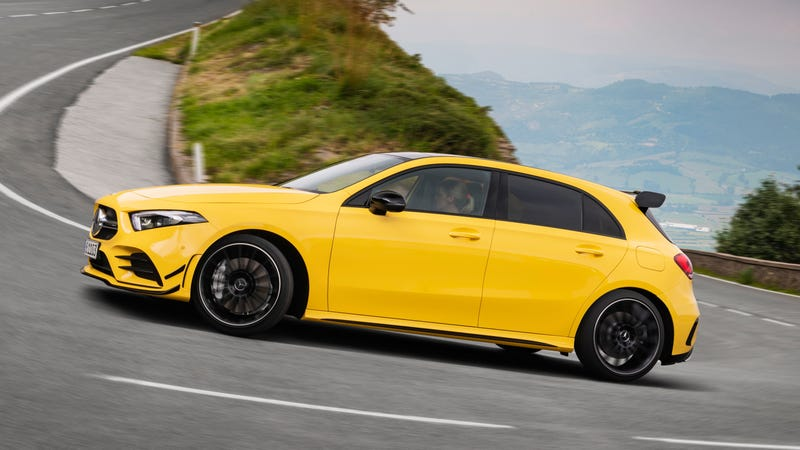 2019 Mercedes Amg A35 Benz S New Hot Hatch Has Toys For Your Next