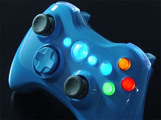 Illustration for article titled Blue Blood 360 Controller Modkit Looks Surprisingly Tasteful