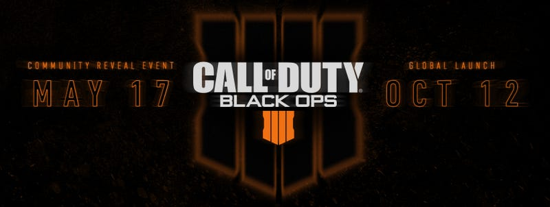 Illustration for article titled Call of Duty: Black Ops 4 Officially Announced