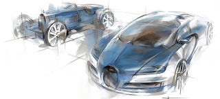Illustration for article titled Next Bugatti Hypercar Will Use Veyron's W16
