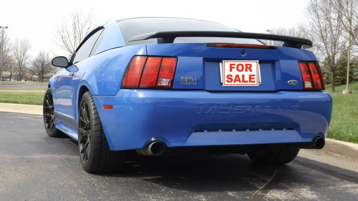 At 15250 could this 2003 ford mustang mach 1 get you to pony up