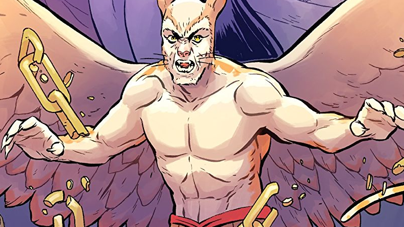 Cover art for Angel Catbird's third volume, The Catbird Roars.