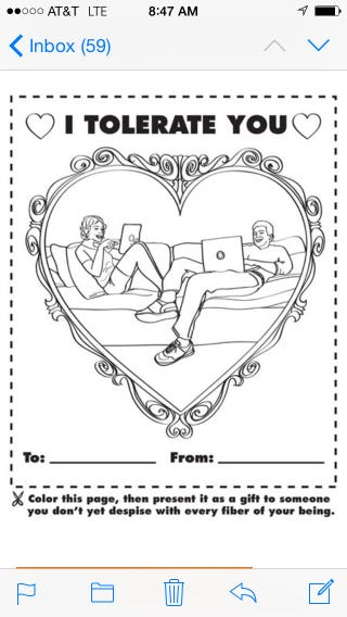 Illustration for article titled A Valentine For the rest of us