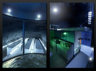 Illustration for article titled Swedish Nuclear Bunker Transmogrified Into Data Center Fit For Bond