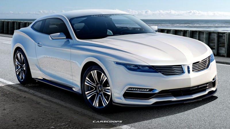 Carscoops Mustang based Lincoln MKR Rendering