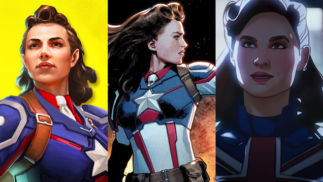 A Brief History of Peggy Carter as Captain America