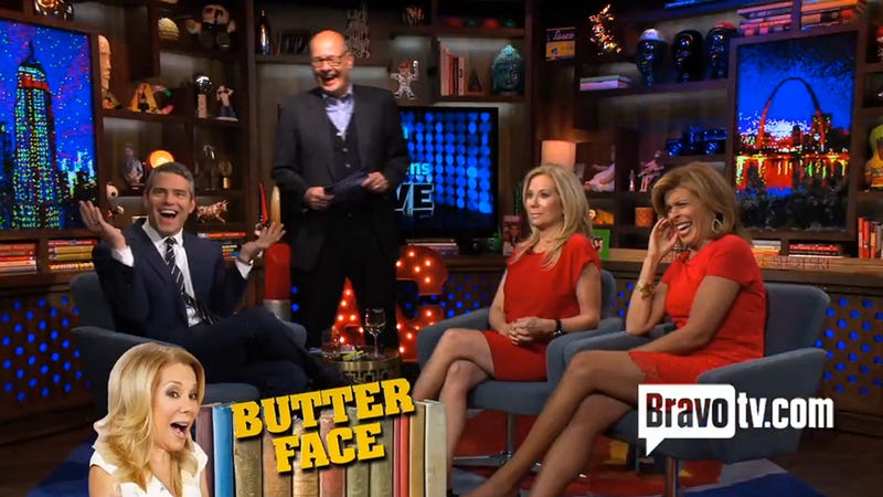 Illustration for article titled Kathie Lee Thinks 'Butter Face' Has to Do With Ejaculation