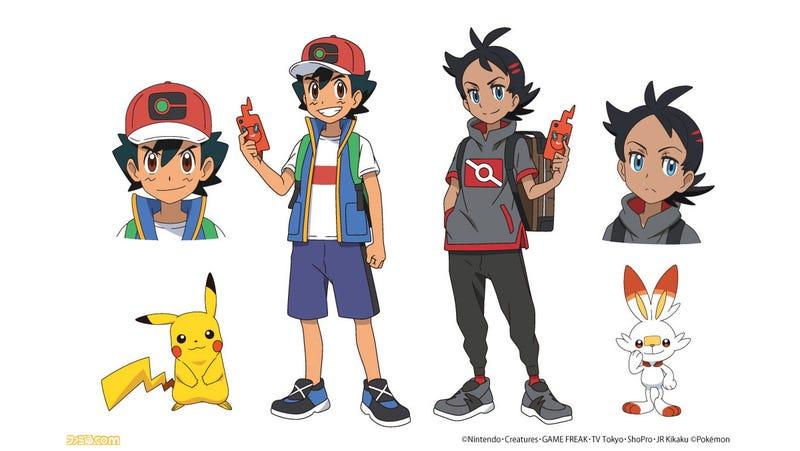 New Pokémon Anime Stars A New Protagonist With Ash