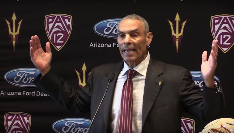 Illustration for article titled What The Hell Is Herm Edwards Talking About?