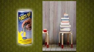 Illustration for article titled Apply Plasti Dip to Furniture to Protect Your Floors