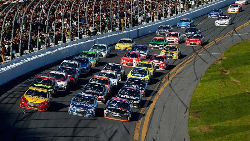 Illustration for article titled And you thought NASCAR was boring