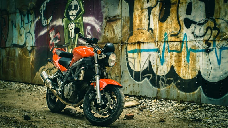 Illustration for article titled The Suzuki SV650 Is The Answer To Everything On Two Wheels