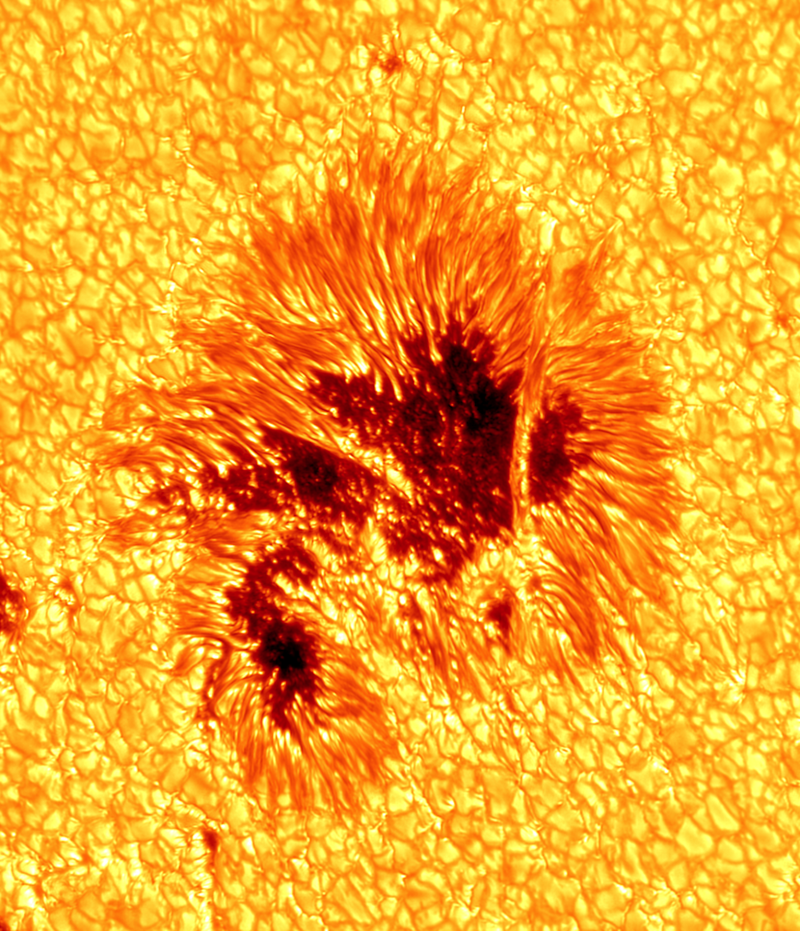 Illustration for article titled Behold, the Clearest Photo of a Sunspot Ever Taken