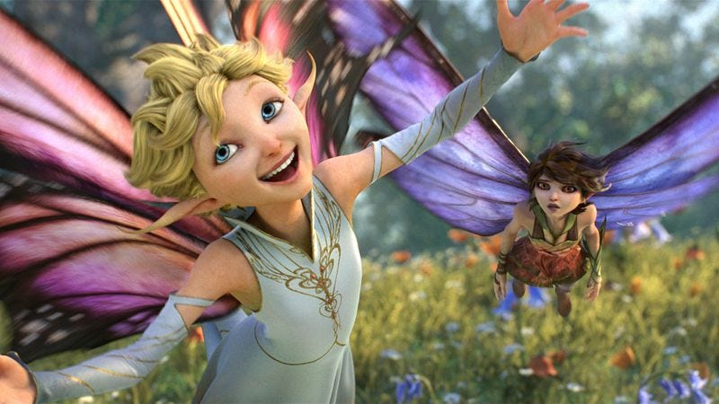 Illustration for article titled Lucasfilm's Strange Magic is the Moulin Rouge of animated features