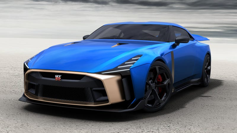 Illustration for article titled The Nissan GT-R50 by Italdesign Gets Green Lit for 50 Cars at $1.1 Million Each