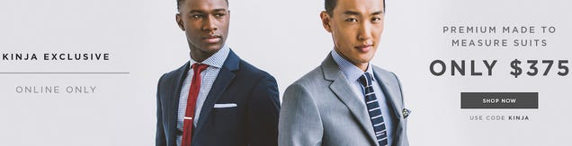 Here's The Best Price Ever On Your Favorite Custom Suits [Exclusive]
