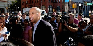 Cory Booker faces ongoing questions about his sexuality. (Michael Bocchieri/Getty Images)