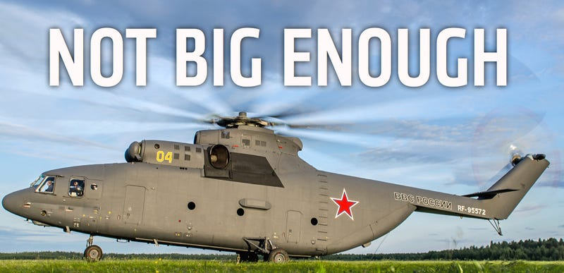 Illustration for article titled China And Russia Team Up To Build World's Largest, Most Powerful Chopper