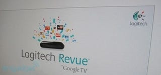 Illustration for article titled Logitech's Google TV Box Finally Gets A Real Name: Revue With Google TV