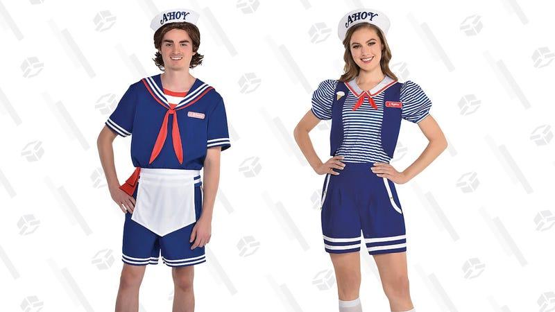 Scoops Ahoy Uniform Costume, Men's and Women's