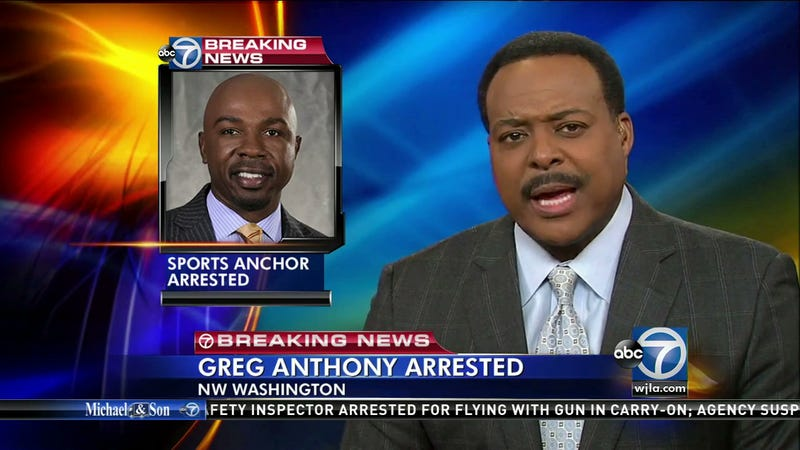 Illustration for article titled Report: CBS Announcer Greg Anthony Arrested In Prostitution Sting