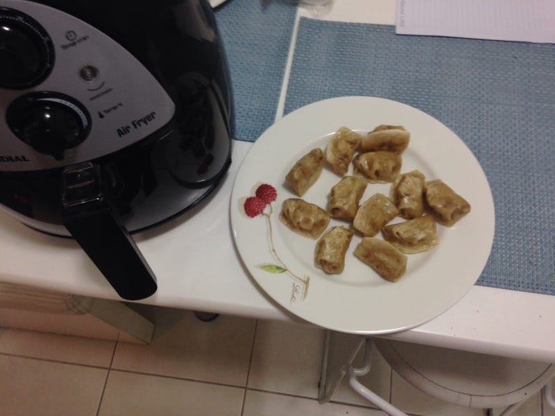Illustration for article titled Cooking because insomnia: made some gyoza.