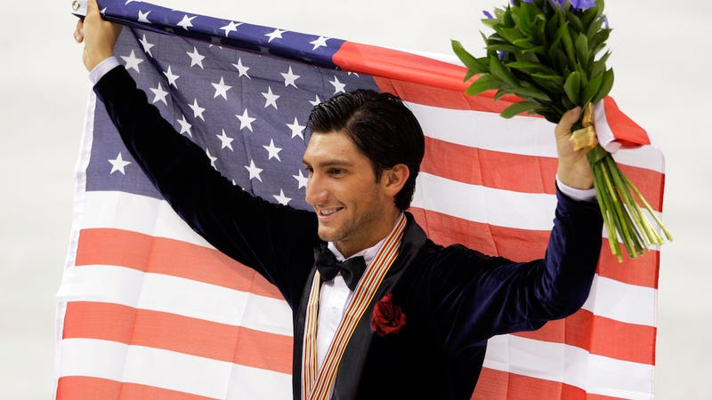 Illustration for article titled Gold Medalist Figure Skater Evan Lysacek Will Not Compete in Sochi