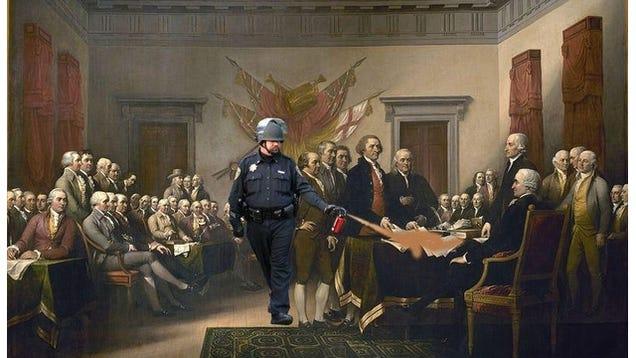 UC Davis Pepper Spray Cop Is Now a Meme