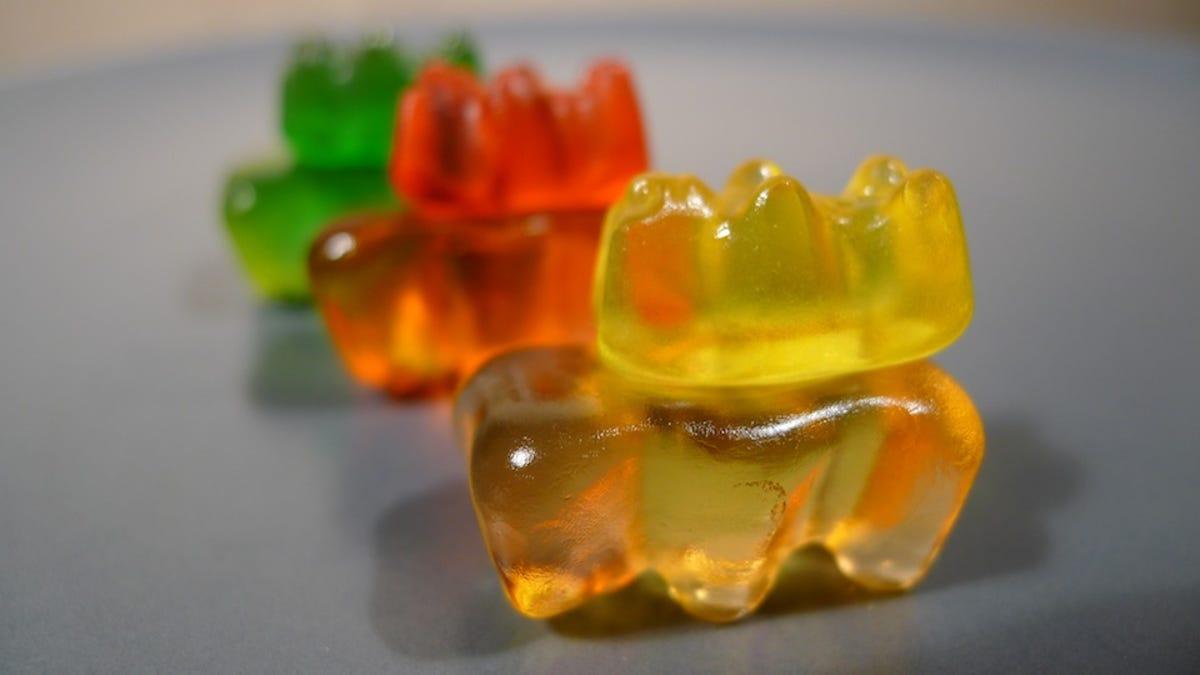 The Anatomy Of A Gummi Bear