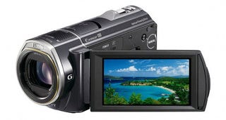 Illustration for article titled Sony's HDR-CX520V and HDR-CX500V Camcorders Follow Your Face