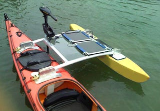 Effortless Kayaking Motorized By The Sun 39 S Rays
