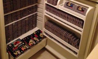 Illustration for article titled A Fridge Full Of Jurassic Park Games Is Good eBay