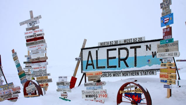 The Northernmost Settlement on Earth Cracked 70 Degrees For the First Time This Week
