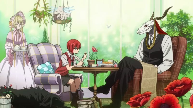 Illustration for article titled The Ancient Magus Bride´s Anime will come in October