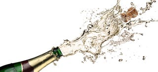Illustration for article titled Want the Most Booze per Calorie? Skip Liquor and Go For Champagne