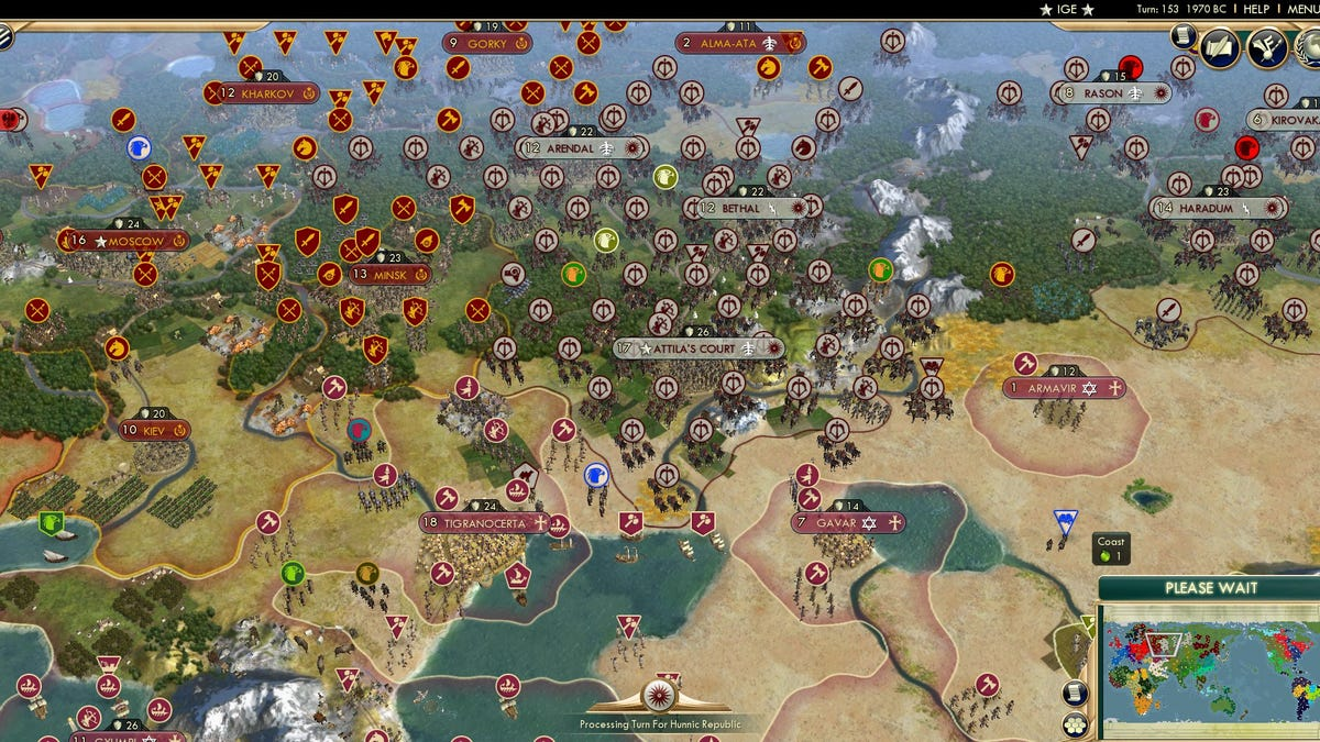 42-Player Civilization Game Is Destroying The Planet