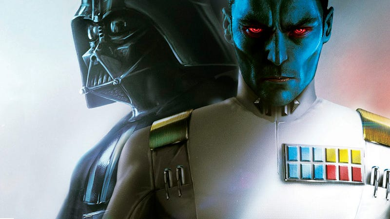 The cover of Thrawn: Alliances by Timothy Zahn.