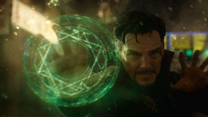 Illustration for article titled Doctor Strange almost entered the Spider-Verse, too