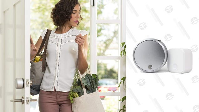 Enter the Smart Home With This Terrific Discount on the August Smart Lock Pro