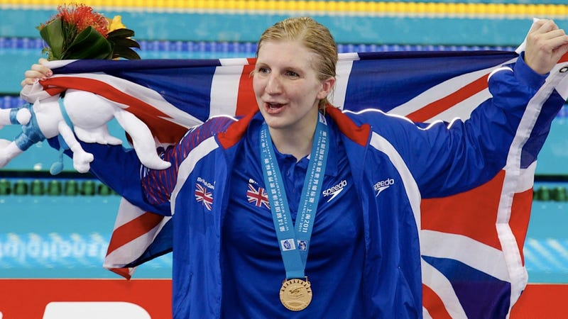 Illustration for article titled Swimmer Rebecca Adlington Is Quitting Twitter Until Olympics Are Over Because People Are Jerks