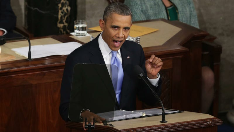 Illustration for article titled Fact-Checking The State Of The Union Address